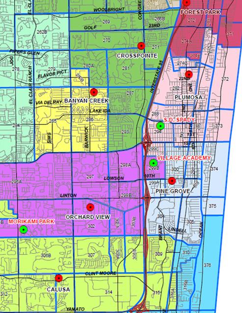 delray-beach-elementary-schools-map
