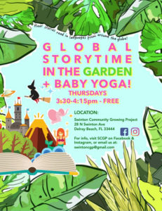 Global Story Time in the Garden @ Swinton Community Growing Project